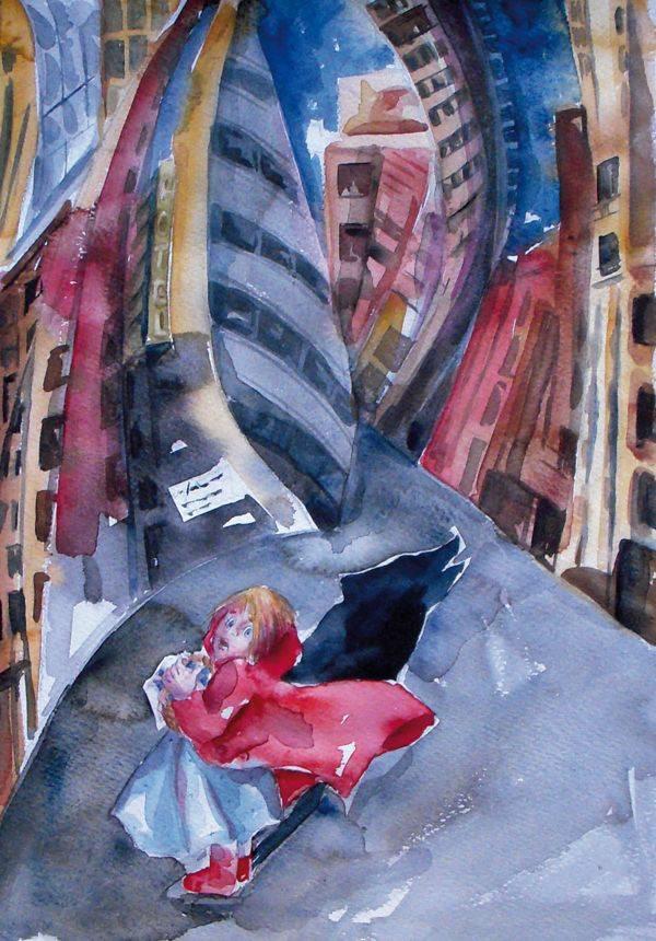 Ilustración de Caperucita Roja