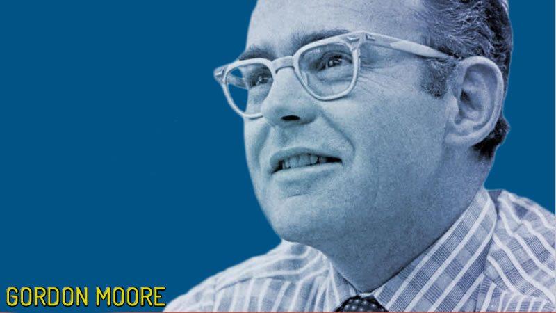 Gordon Moore, el creador de la Ley de Moore