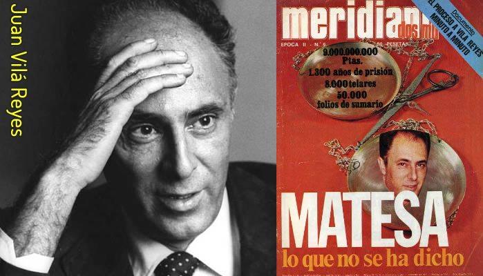 Juan Vilár Reyes, la cabeza pensante de fraude de Matesa