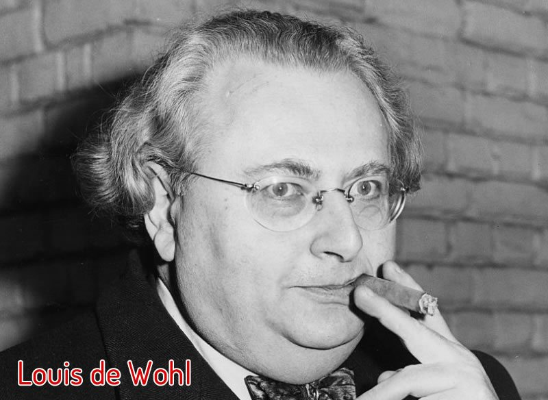 Retrato de Louis de Wohl