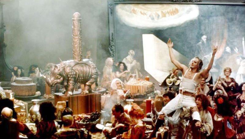 Fotograma de la película sobre Casanova del director italiano Fellini