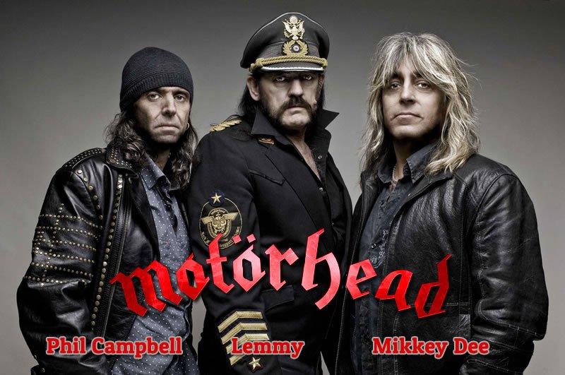 Motörhead al completo