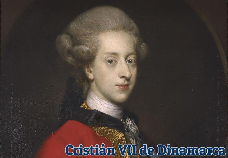 Imagen del Cristían VII de Dinamarca