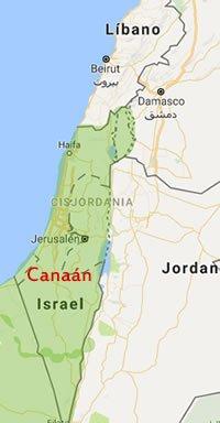 canaan_mapa