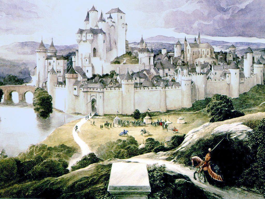 El famoso castillo de Camelot