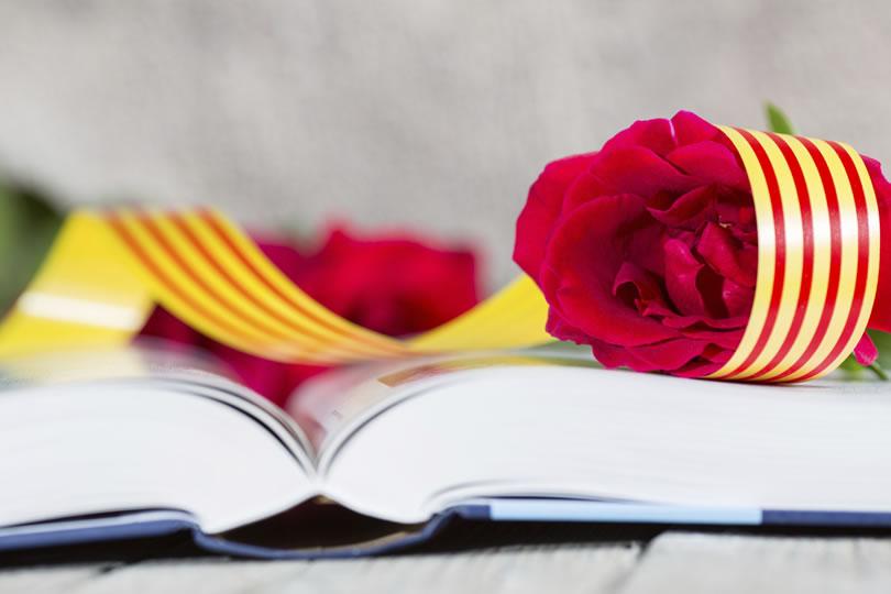 El día de la rosa y el libroi, Sant Jordi