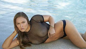 Ronda Rousey posando para Sports Illustrated 2015