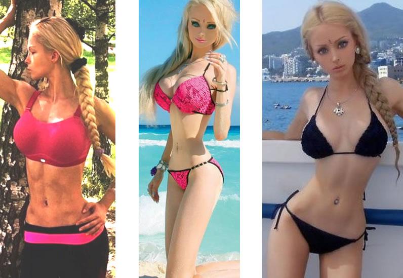 "Valeria ""Chica Barbie"" Lukyanova"