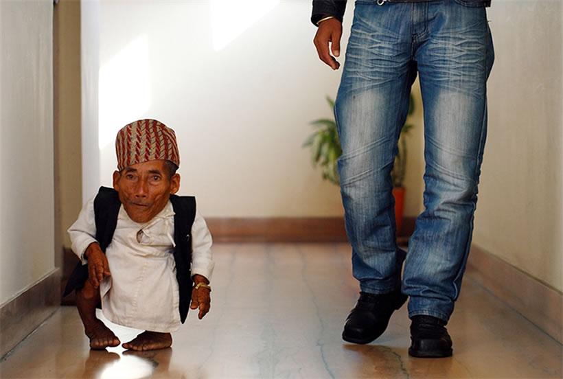 Chandra Bahadur Dangi, el hombre más pequeño del mundo