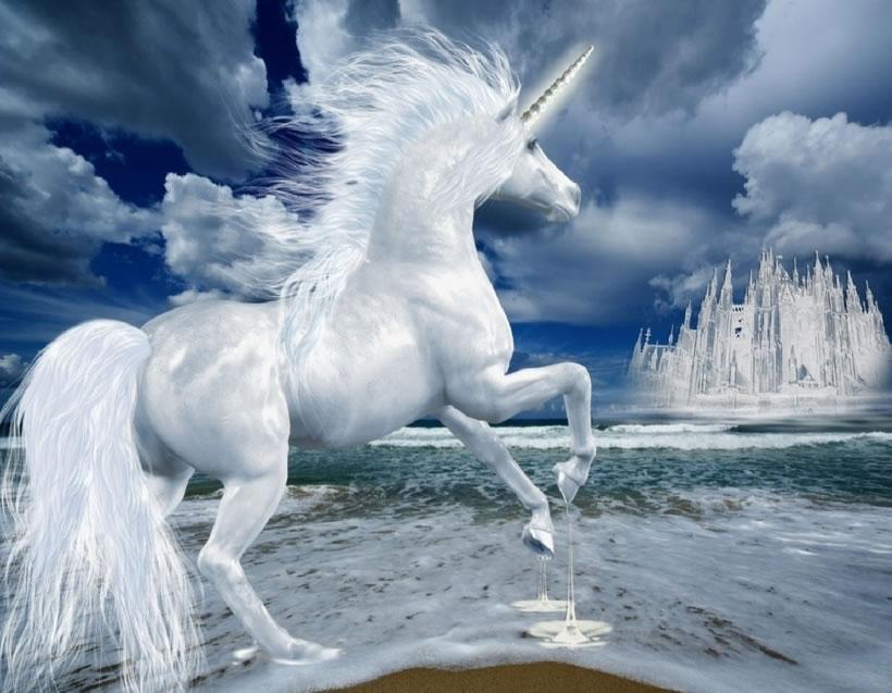Representación de un unicornio