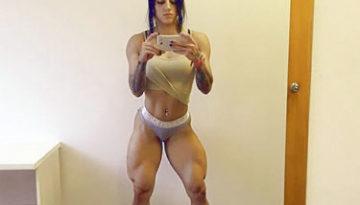 Bakhar Nabieva piernas impresionantes