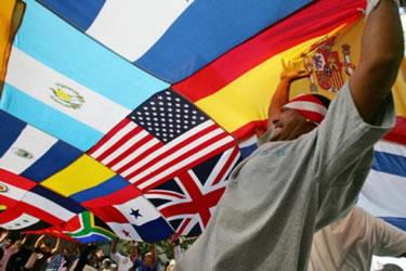 Banderas de la inmigración