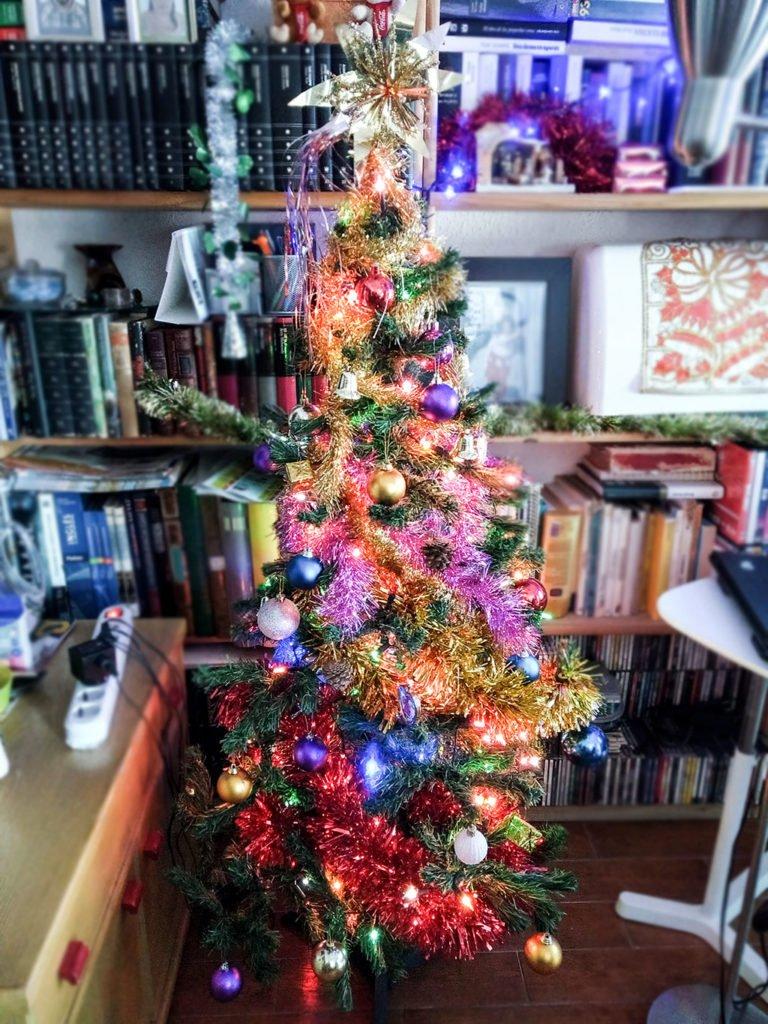 El árbol de Navidad de nuestro hogar