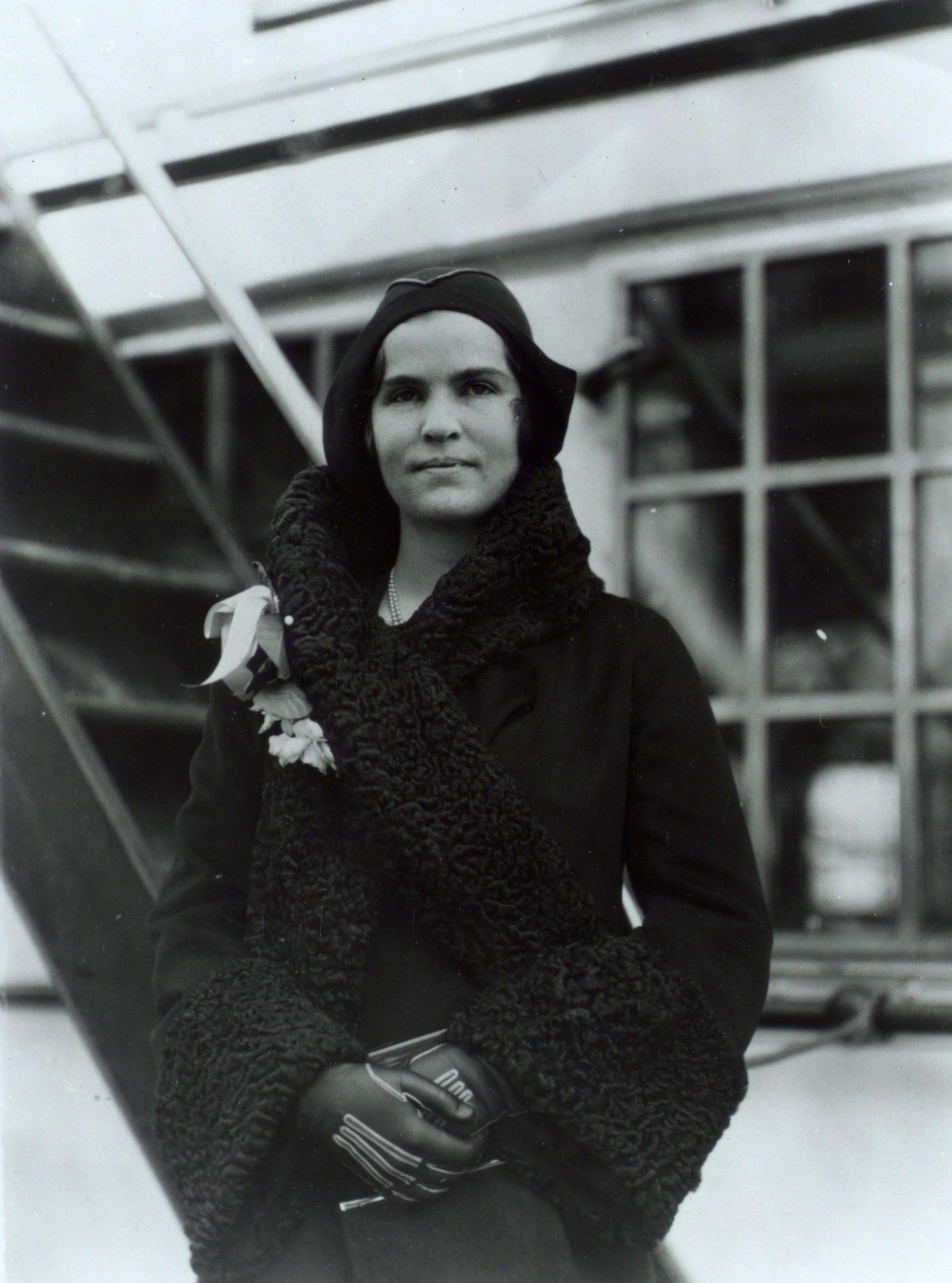 Fotografía de Elizabeth Hughes, 22/12/1930Fotografía de Elizabeth Hughes, 22/12/1930