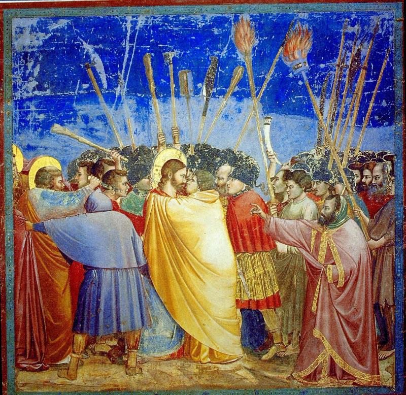Giotto - El beso de JudasGiotto - El beso de Judas