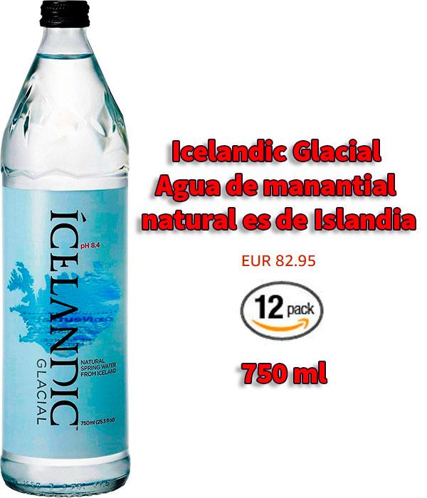 Icelandic Glacial botella de agua premiumf