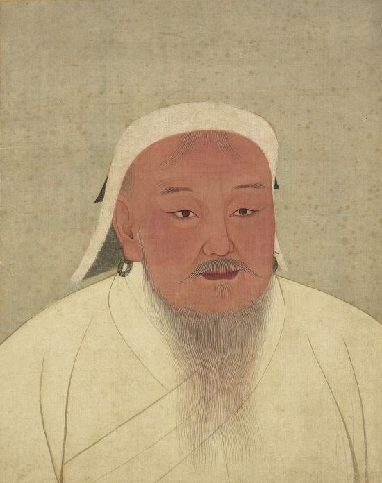 Retrato de Gengis Kan