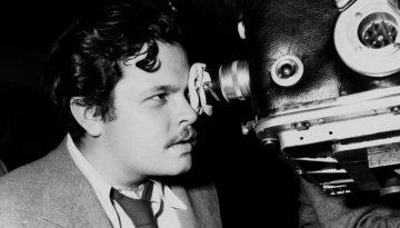 Orson Welles ejerciendo de director y cámara