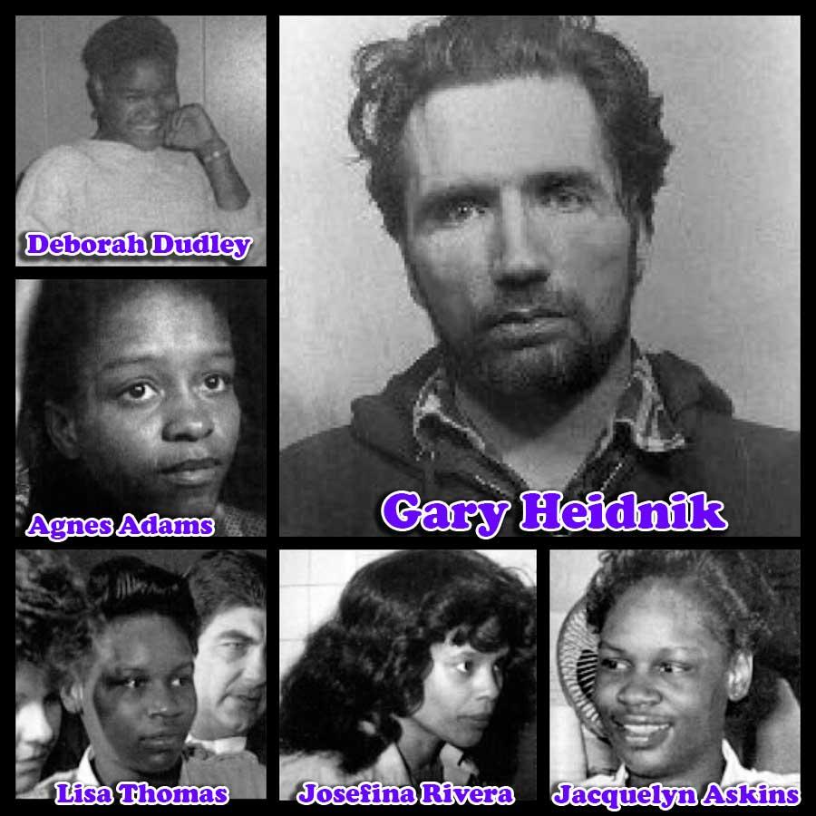Gary Heidniks y sus victimas