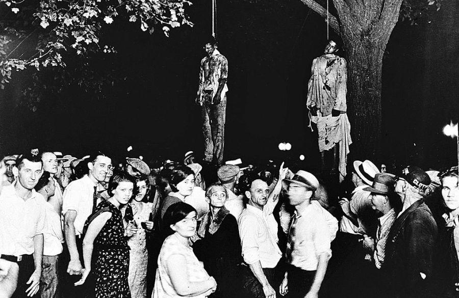 Linchamiento de dos hombres negros en Mississippi