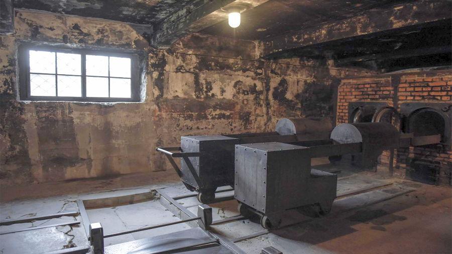 Hornos crematorios donde acababan los prisoneros considerados no aptos y los que morían durante los experimentos.