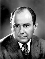 John von Neumann, registrado al nacer como Neumann János Lajos