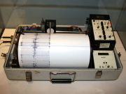 El sismógrafo o sismómetro