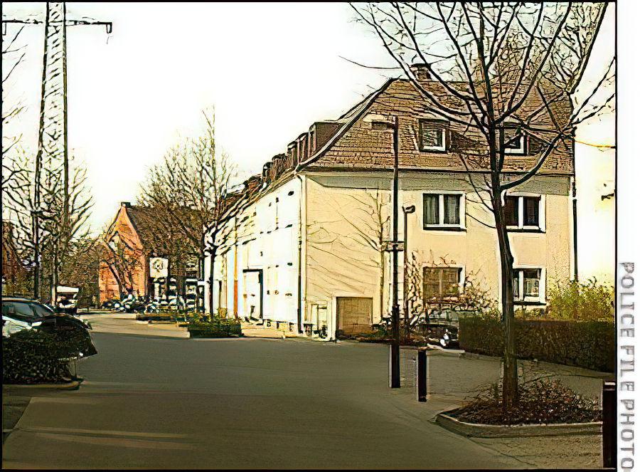 Residencia de Joachim Kroll cuando vivía en Friesenstrasse