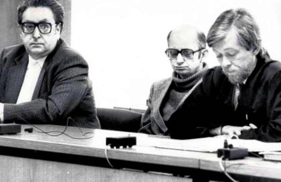 Joachim Kroll durante el juicio