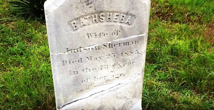 La tumba de Betsabé Sherman