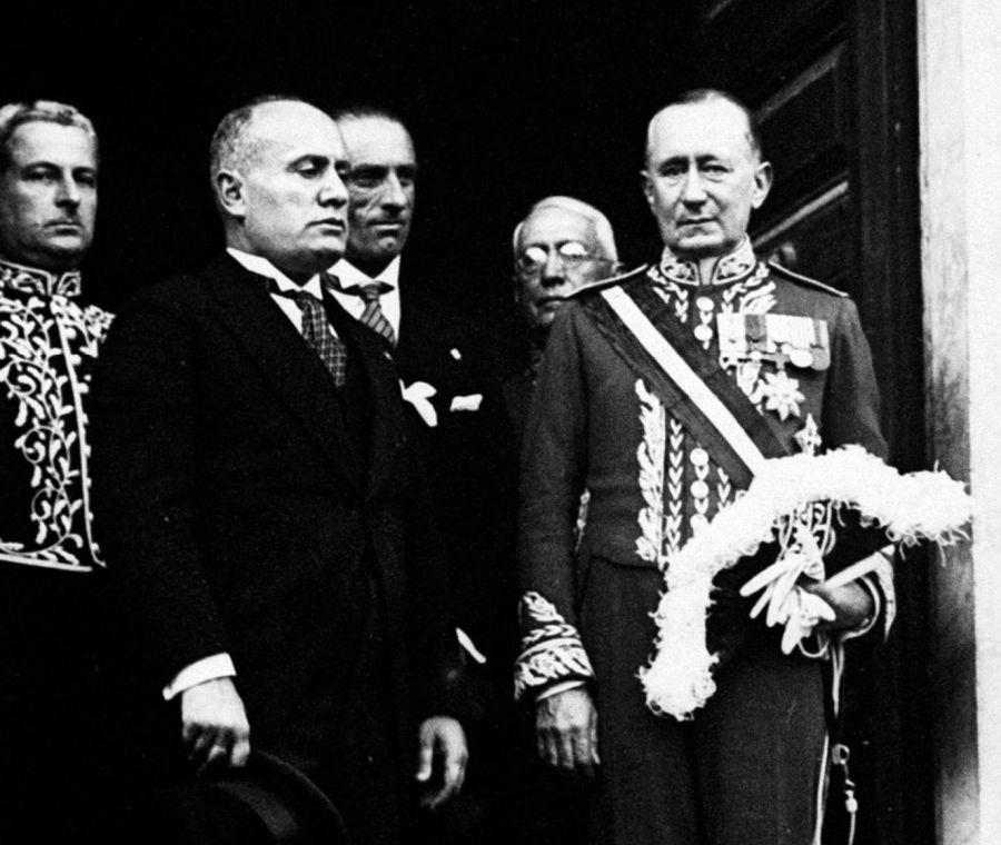 Marconi y Mussolini