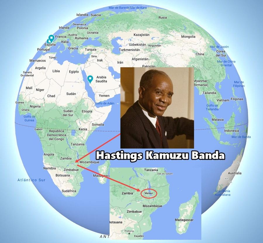 Hastings Kamuzu Banda y Malaui
