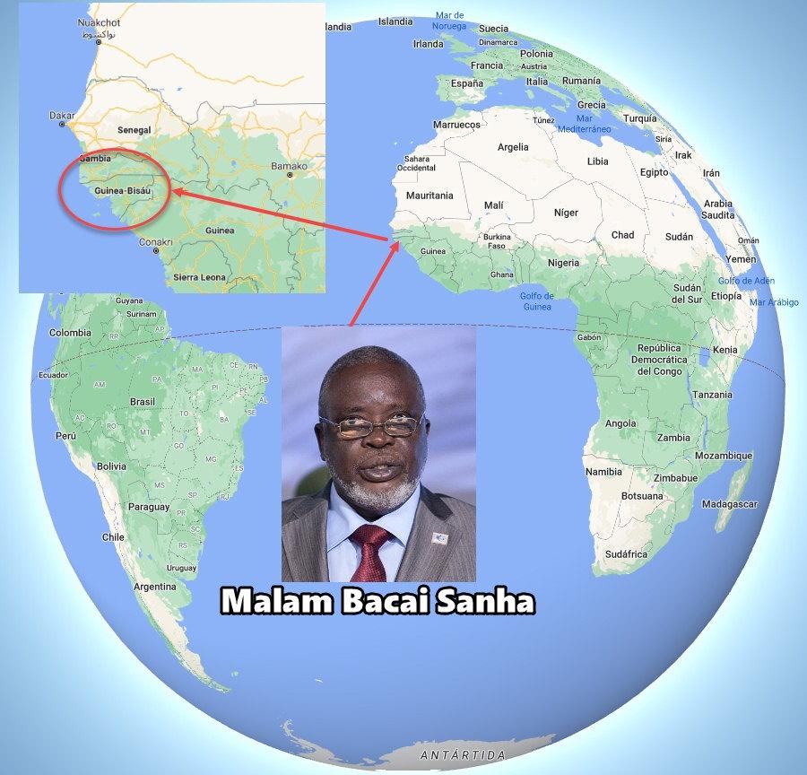 Malam Bacai Sanha y Guinea-Bissau