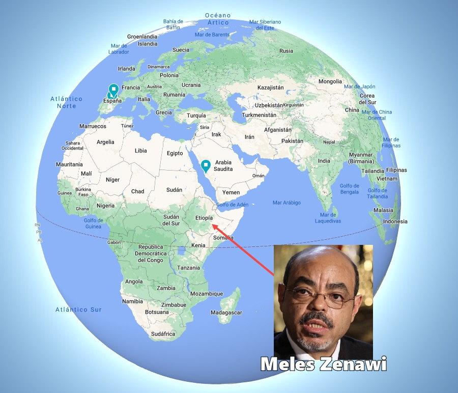 Meles Zenawi Etiopia