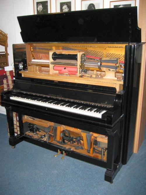 pianola (o piano mecánico)