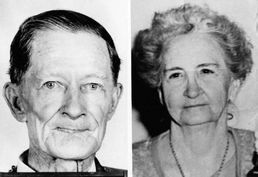 Fred C. Rogers y su esposa, Edwina Harmon Rogers.