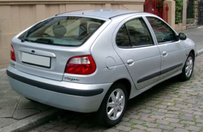 Trasera de Renault Megane