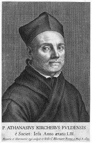 Athanasius Kircher S.J. (castellanizado como Atanasio Kircher)
